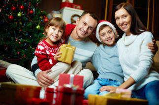 Generic - Happy Family in Christmas