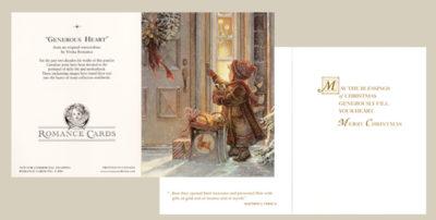 Generous Heart Christmas Cards Trisha Romance