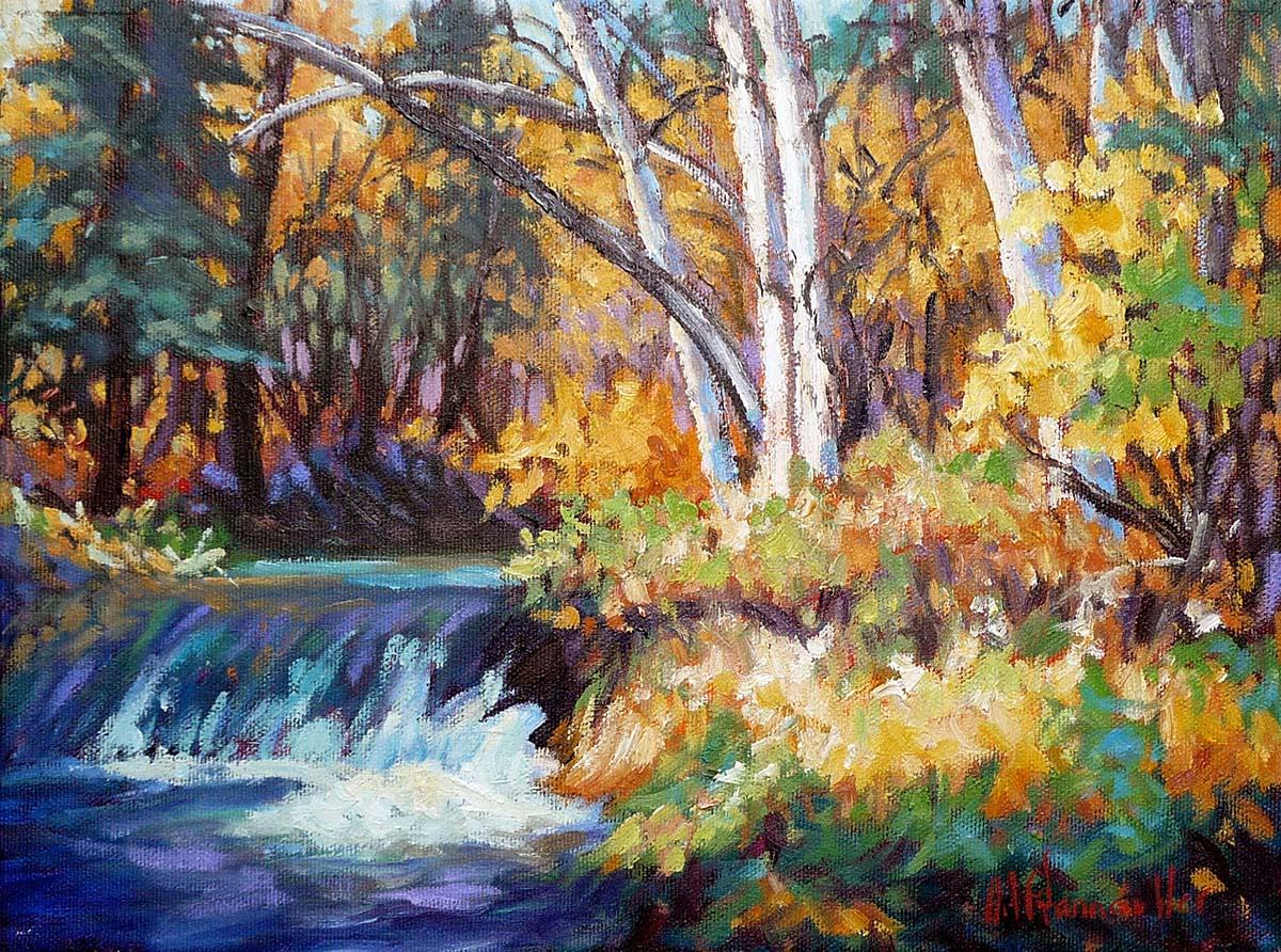 Gentle Falls - Audrey Pfannmuller