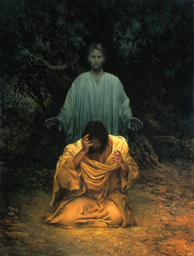 Gethsemane - James Christensen