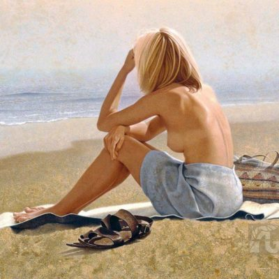 Girl on a Beach - Michael Thompson