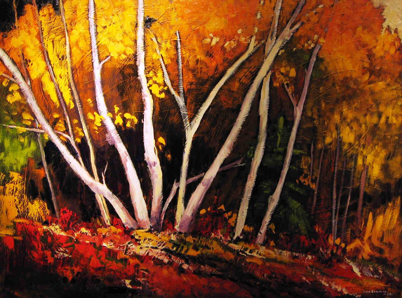 Golden Birch Lois Bauman