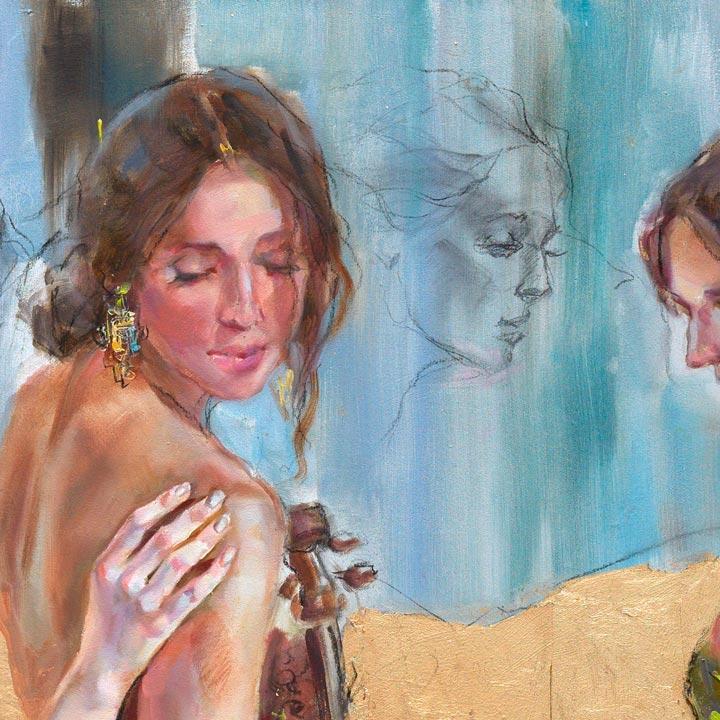 Golden Kingdom 4 - Detail 3 - Anna Razumovskaya