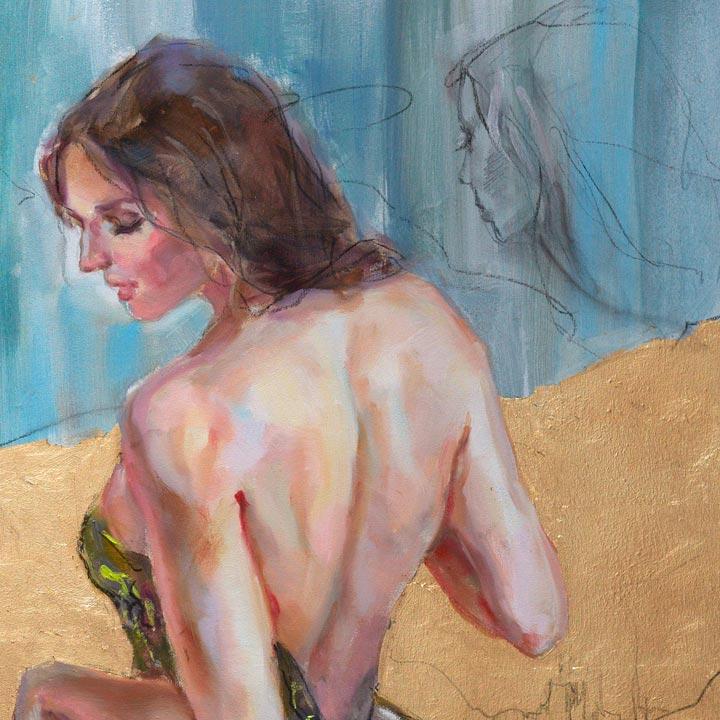 Golden Kingdom 4 - Detail 6 - Anna Razumovskaya