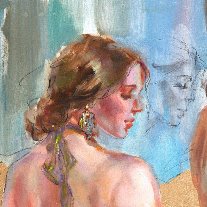 Golden Kingdom 4 - Detail 7 - Anna Razumovskaya
