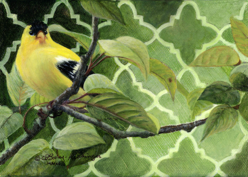 Goldfinch - Cindy Sorley-Keichinger