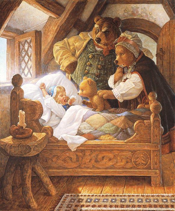 Goldilocks And The Three Bears Scott Gustafson