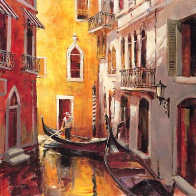 Gondolier Brent Heighton