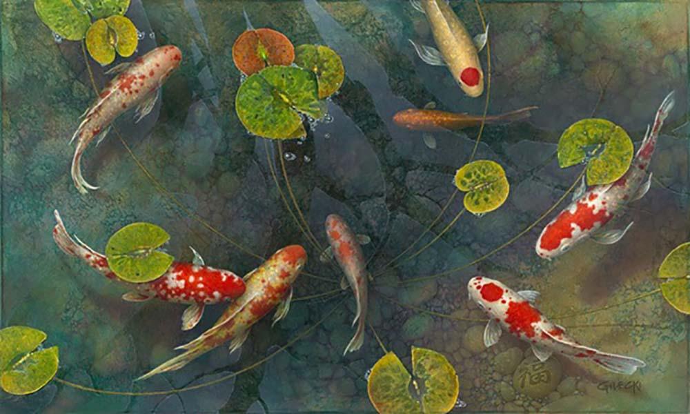Good Luck Pond #3 - Terry Gilecki