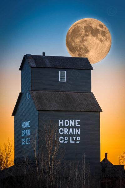 Grain Elevator Supermoon Rocco Macri