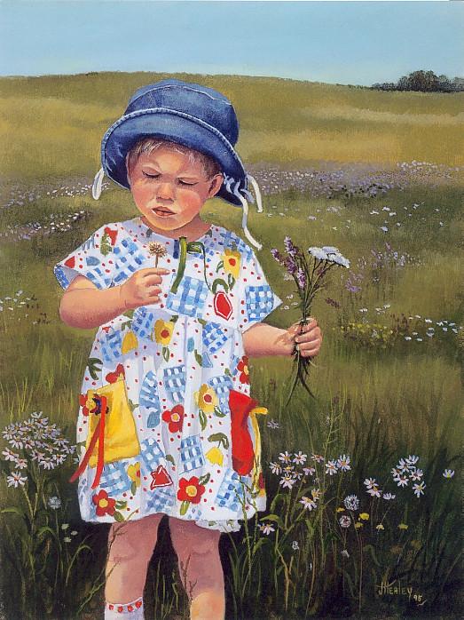 Grandchild Joan Healey