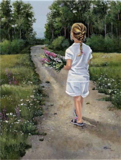 Granddaughter Joan Healey