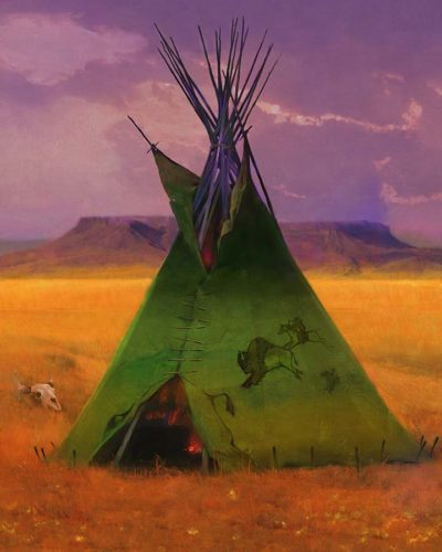 Green Buffalo Lodge - R. Tom Gilleon