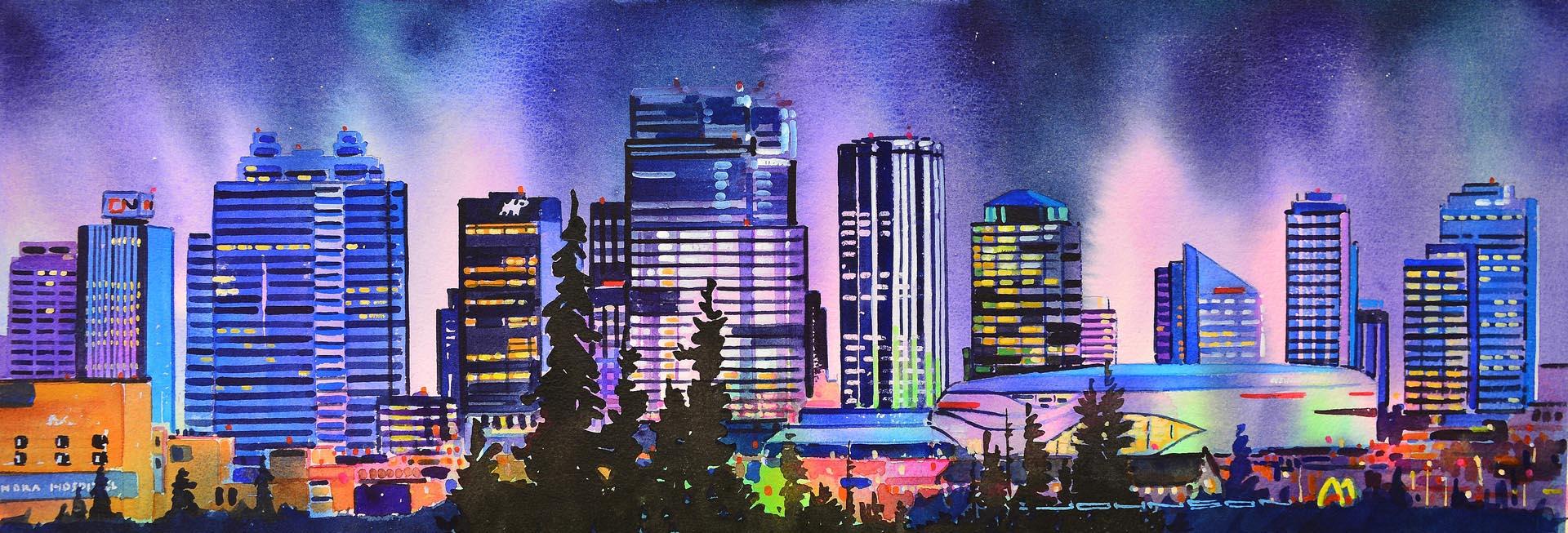 Growing Skyline - Edmonton - Gregg Johnson