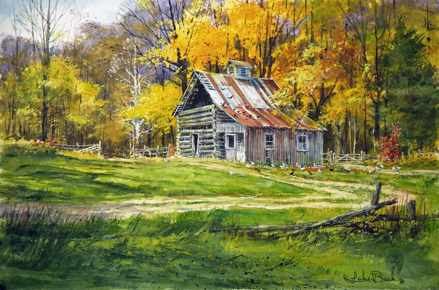 Hand Made Barn - Luke Buck