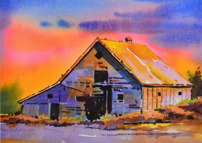 Hanging in There, At Sunset - Gregg Johnson