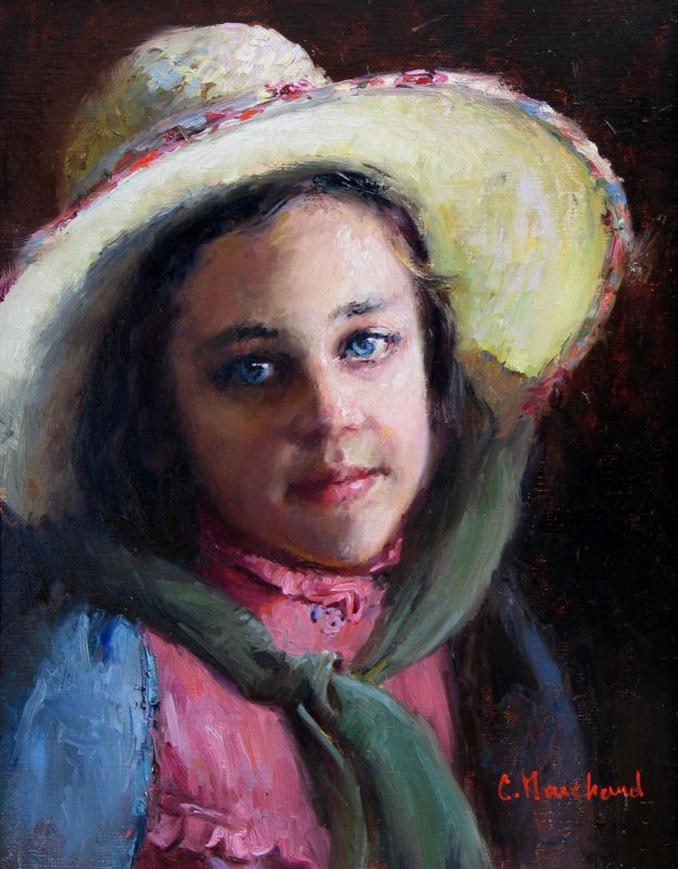 Hannah in Hat - Catherine Marchand