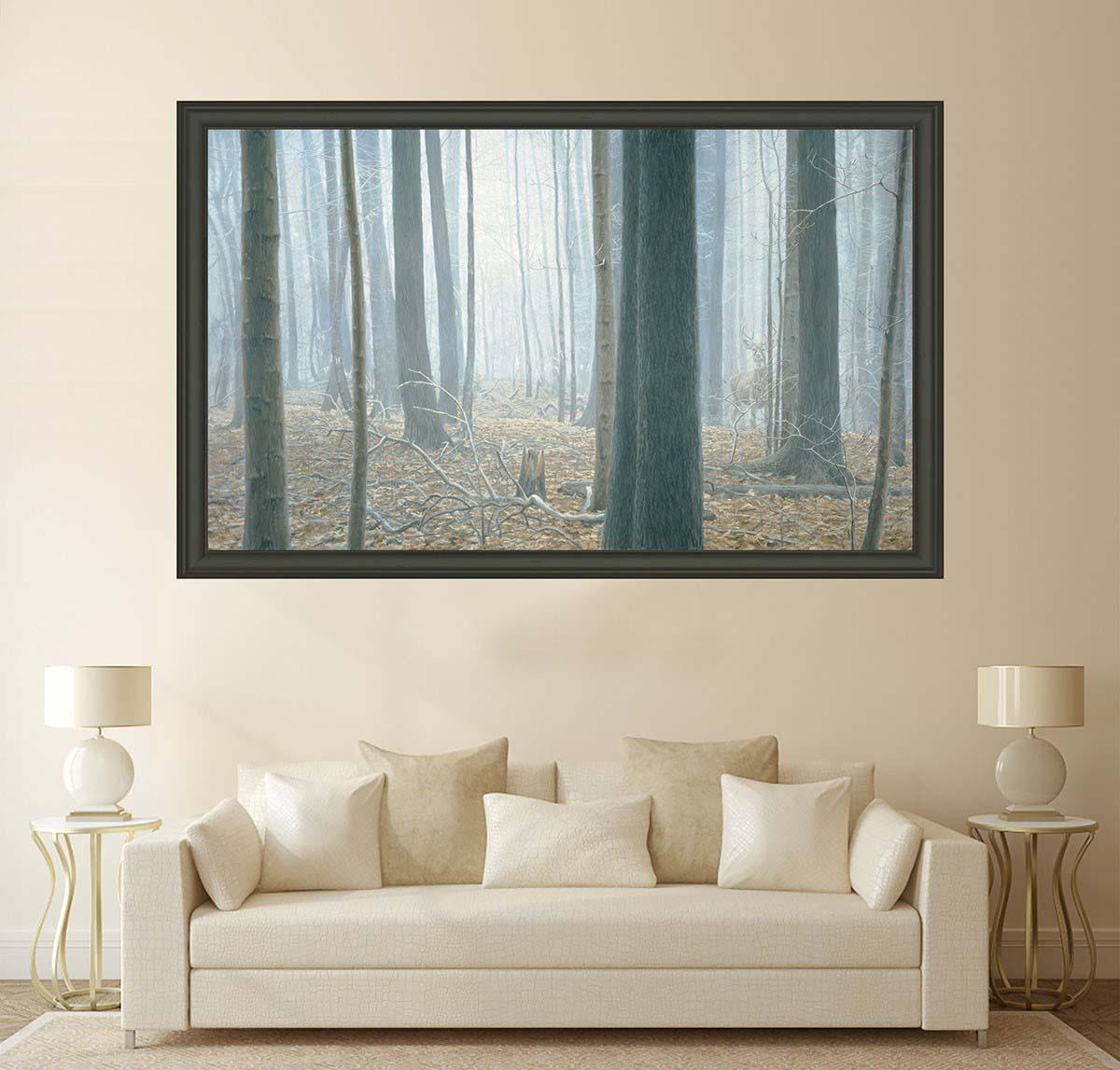 Hardwood Forest - White-Tailed Deer - Museum Edition - Robert Bateman