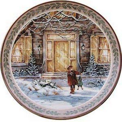 Harrop Homestead Collector Plate Trisha Romance