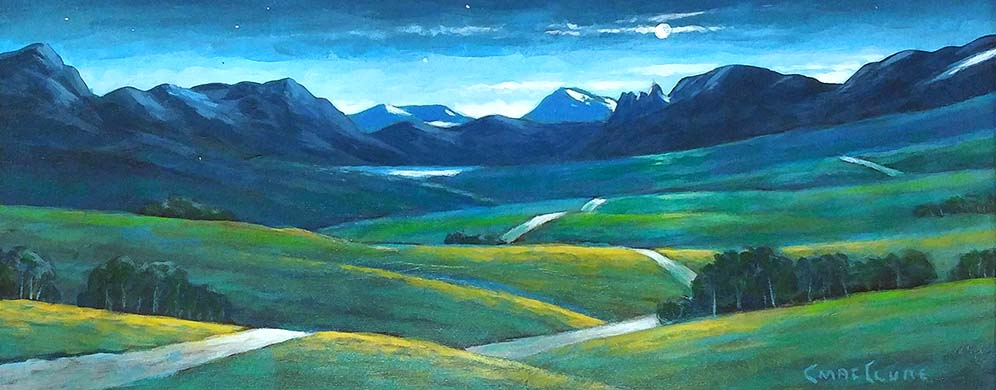 Heading to Waterton - Chris MacClure