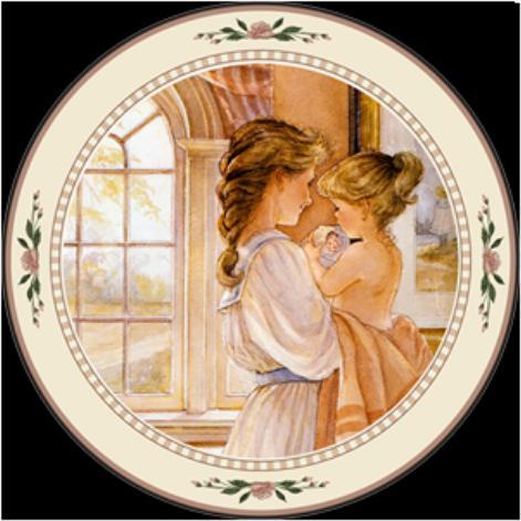 Heart To Heart Collector Plate Trisha Romance