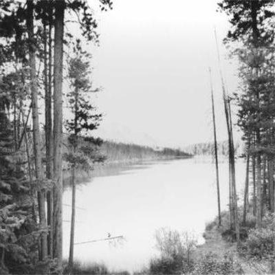 Herbert Lake At Sunset Fred Braakman