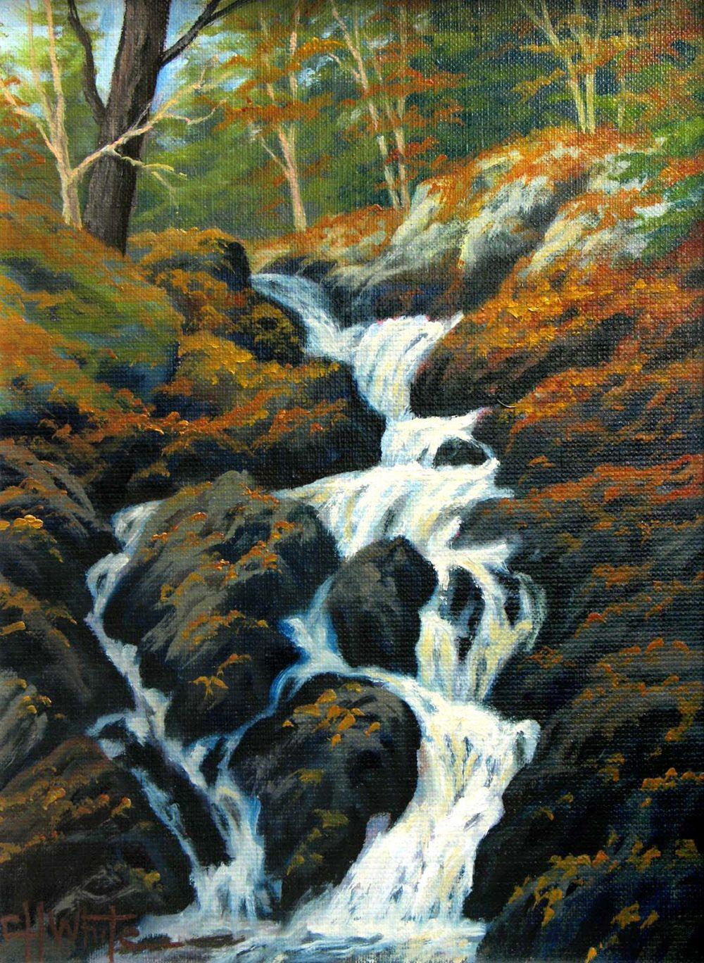 Hiawatha Falls - Charles White