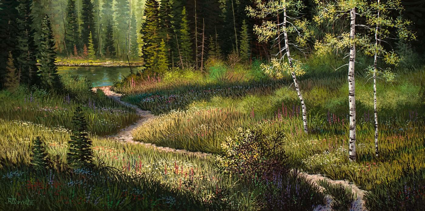 Hidden Pond - Roger Arndt
