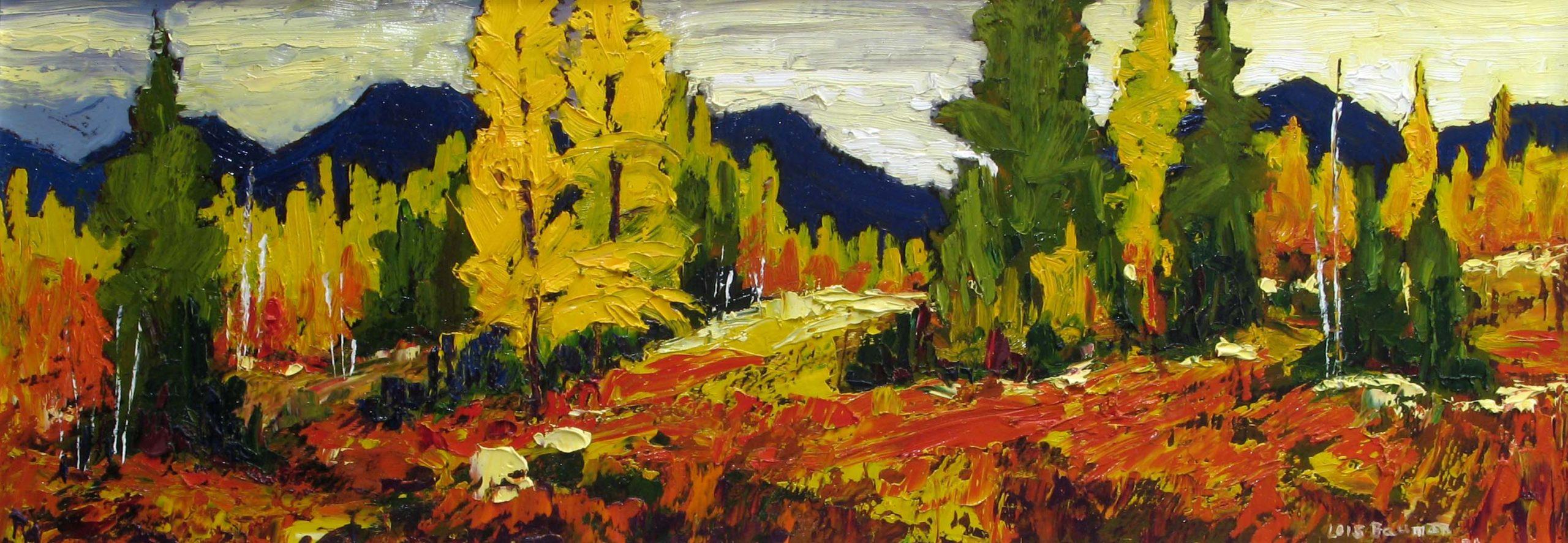Highwood Pass Larches - Lois Bauman