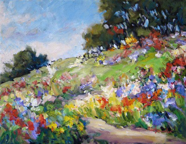 Hillside Garden - Audrey Pfannmuller
