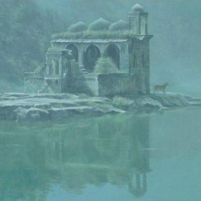 Hindu Temple - Tiger - Robert Bateman