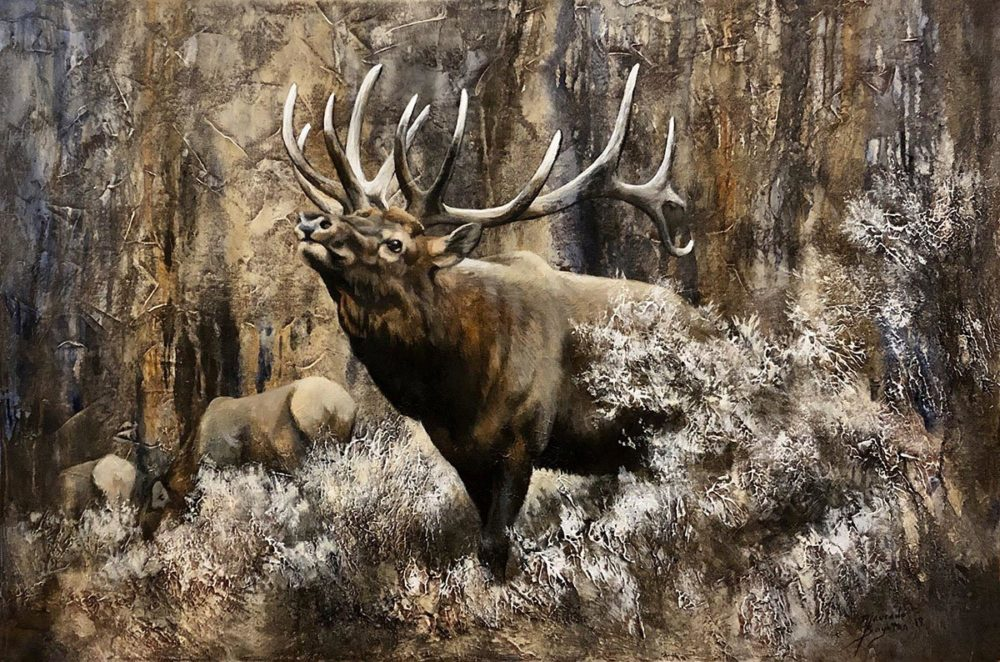 His Majesty - Imperial Elk - Maurade Baynton