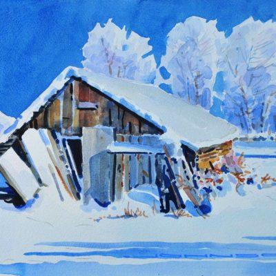 Hoar Frost on the Bachelor Farm - Gregg Johnson