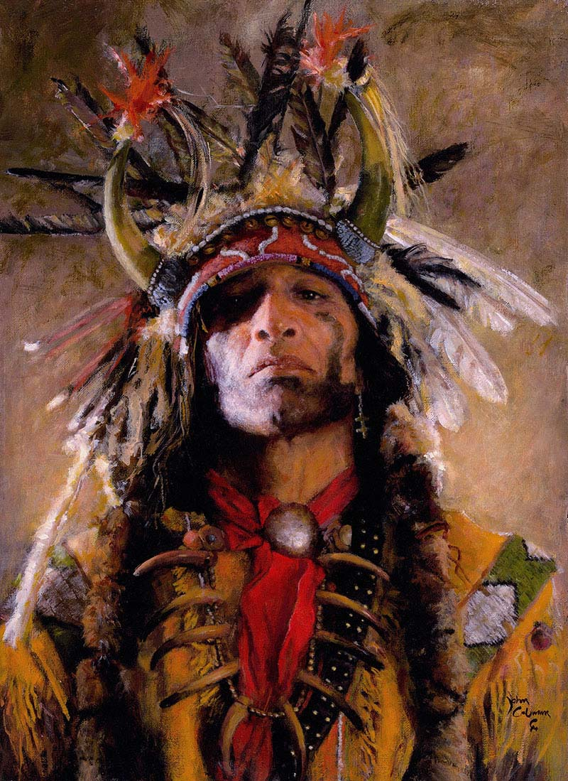 Holy Man of the Buffalo Nation - John Coleman