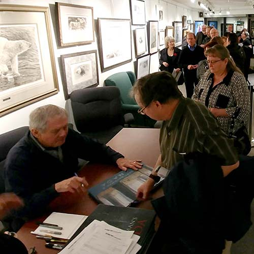 Homepage - Robert Bateman Evening - Signing Session - Square Slide