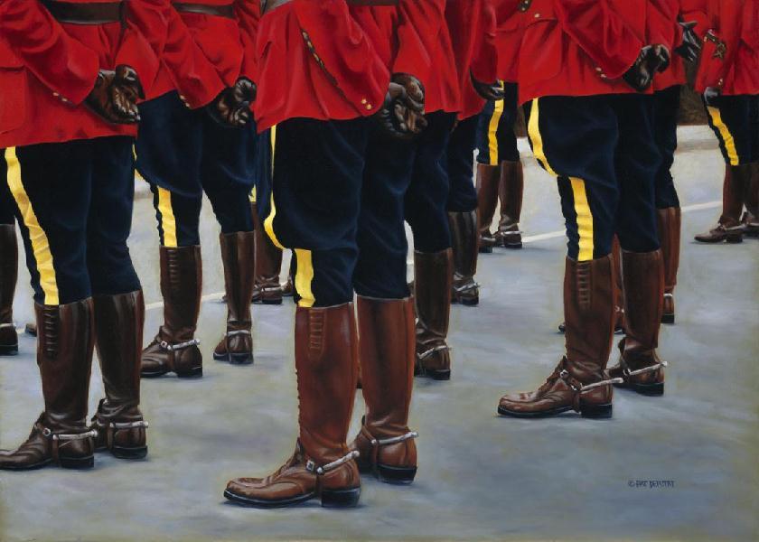 Honour Guard At Ease Pat Deputat