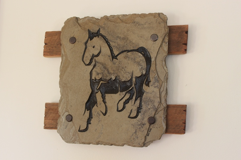 Horse Slate 1 Roy Hinz