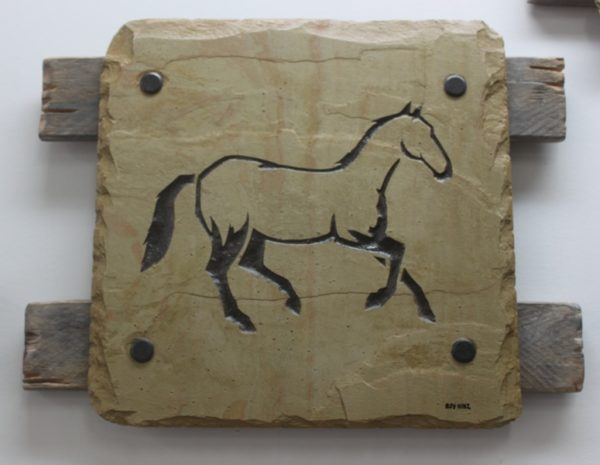 Horse Slate 2 Roy Hinz