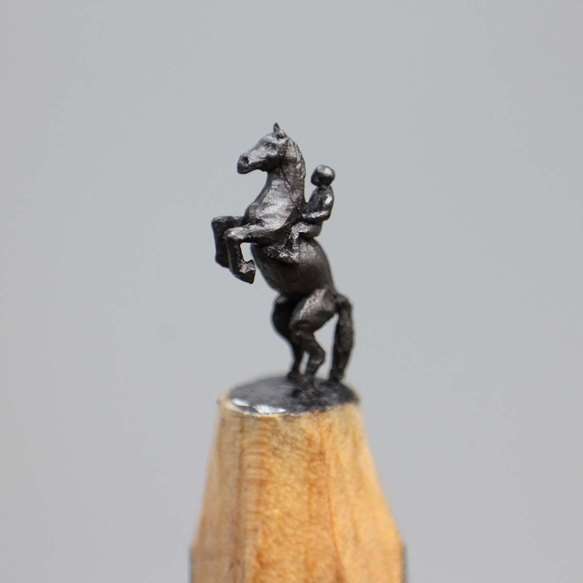Horse and Rider - Thomas Jacob