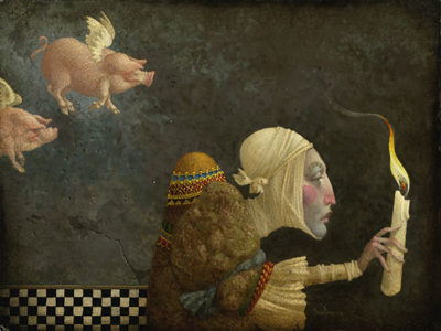 If Pigs Could Fly James Christensen