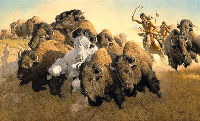 In Pursuit of the White Buffalo - Frank McCarthy