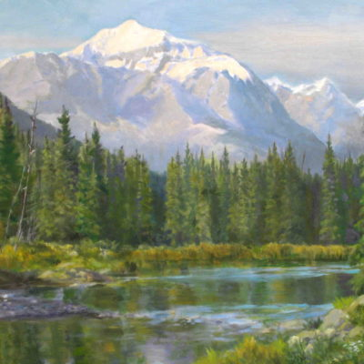 In The Bow Valley Isabel Levesque