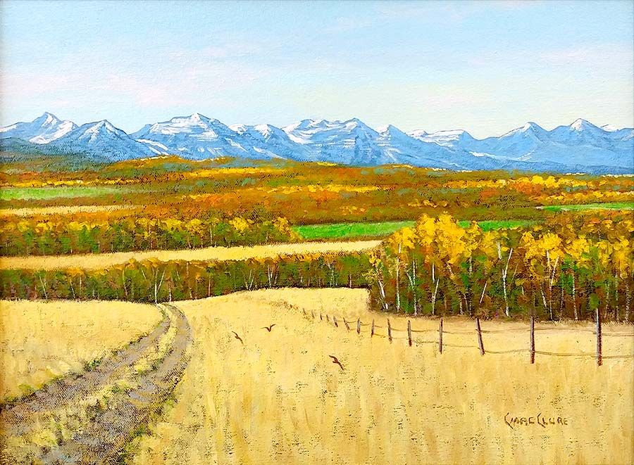 In the Foothills - Chris MacClure