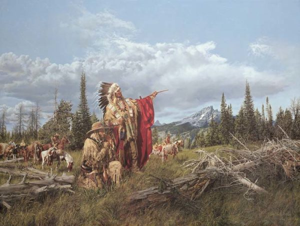 In the Land of the Teton Sioux - Paul Calle