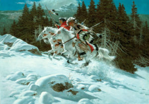 In the Land of the Winter Hawk - Frank McCarthy