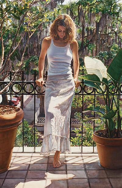 In The Warm Savannah Sun Steve Hanks