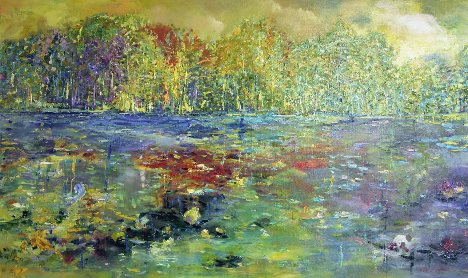 Infinite Lake - Fiona Hoop