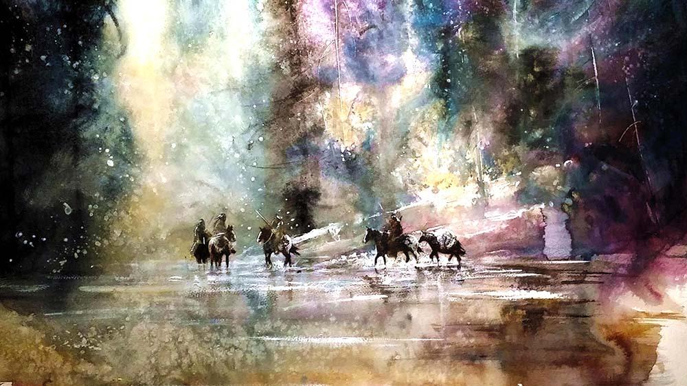 Jewels of Twilight - Graham Flatt - Example Art