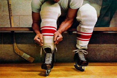 Lacing Up Ken Danby
