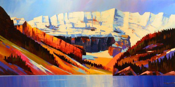 Lake Louise, Light and Shade - Branko Marjanovic